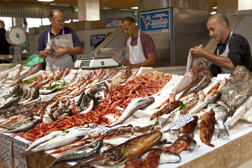 pescato del giorno capecchi