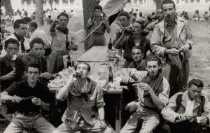 partigiani a pranzo