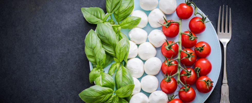 Bandiera italiana cucina