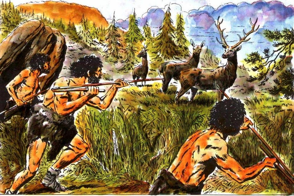 caccia paleolitico